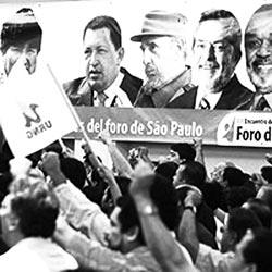 Foro de São Paulo foi criado oficialmente por Lula e Fidel Castro.